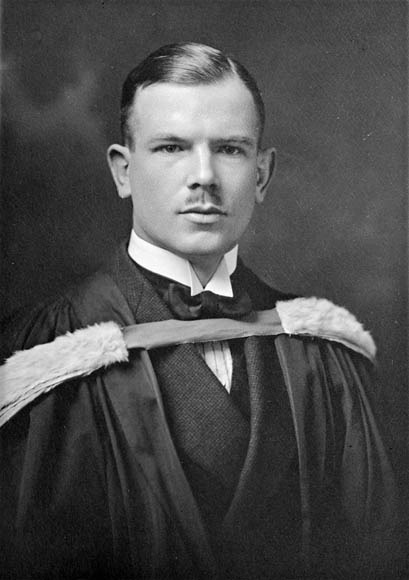 Norman Bethune graduation 1922