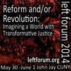 Social ecologists at the Left Forum in NY City